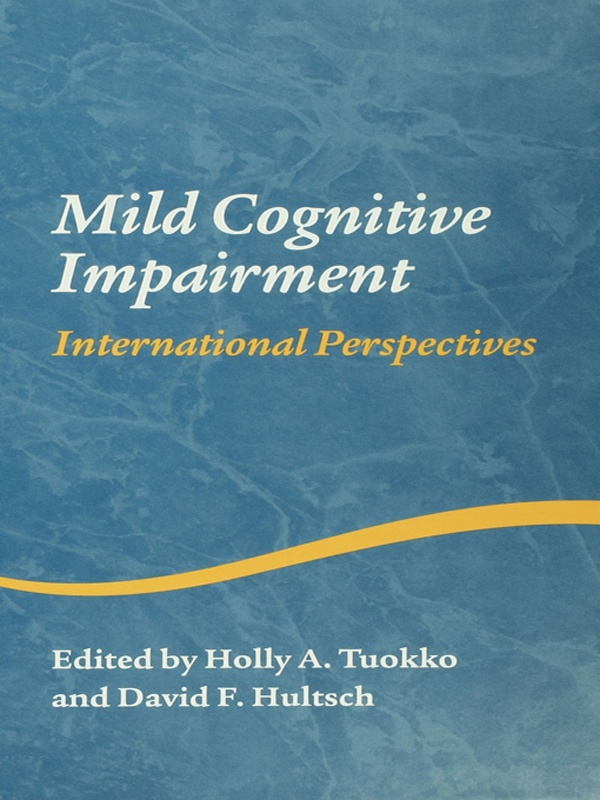 Mild Cognitive Impairment International Perspectives