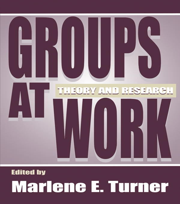 Groups at Work Theory and Research