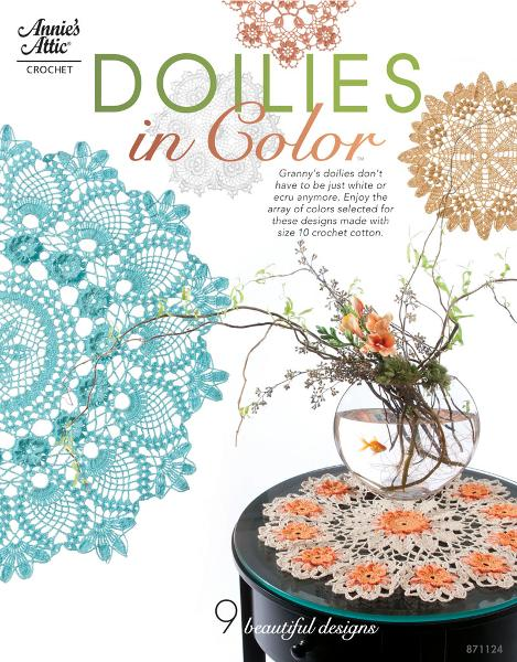 Doilies in Color By: Connie Ellison