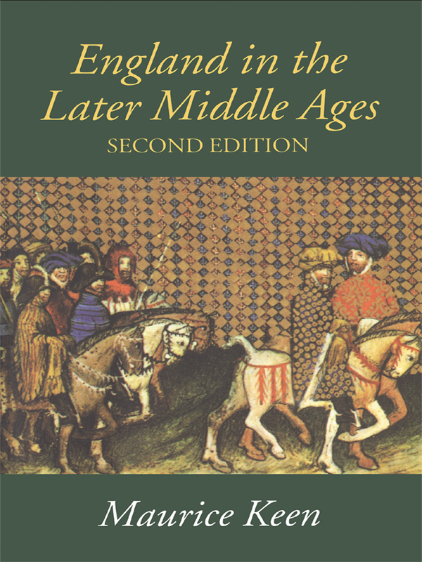 England in the Later Middle Ages