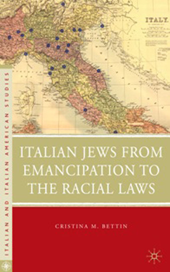 Italian Jews from Emancipation to the Racial Laws