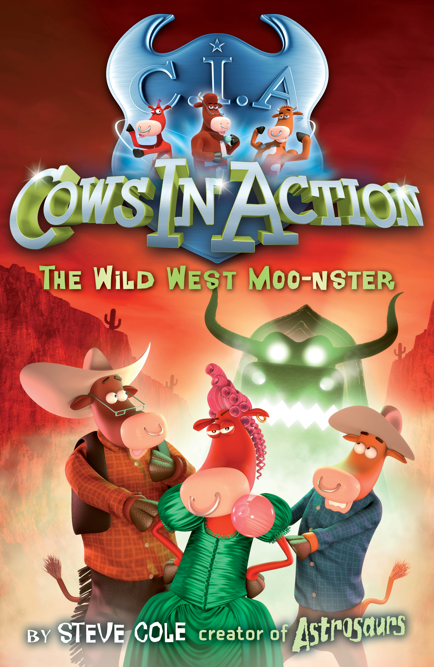 Cows In Action 4: The Wild West Moo-nster