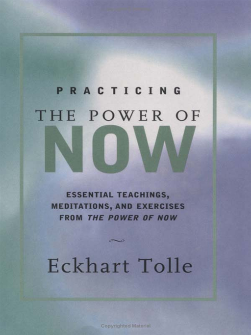 Practicing The Power Of Now By: Eckhart Tolle
