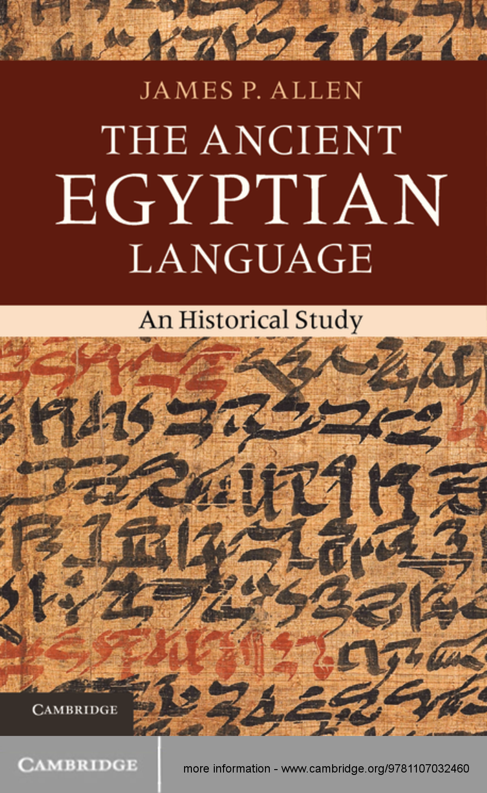 The Ancient Egyptian Language An Historical Study