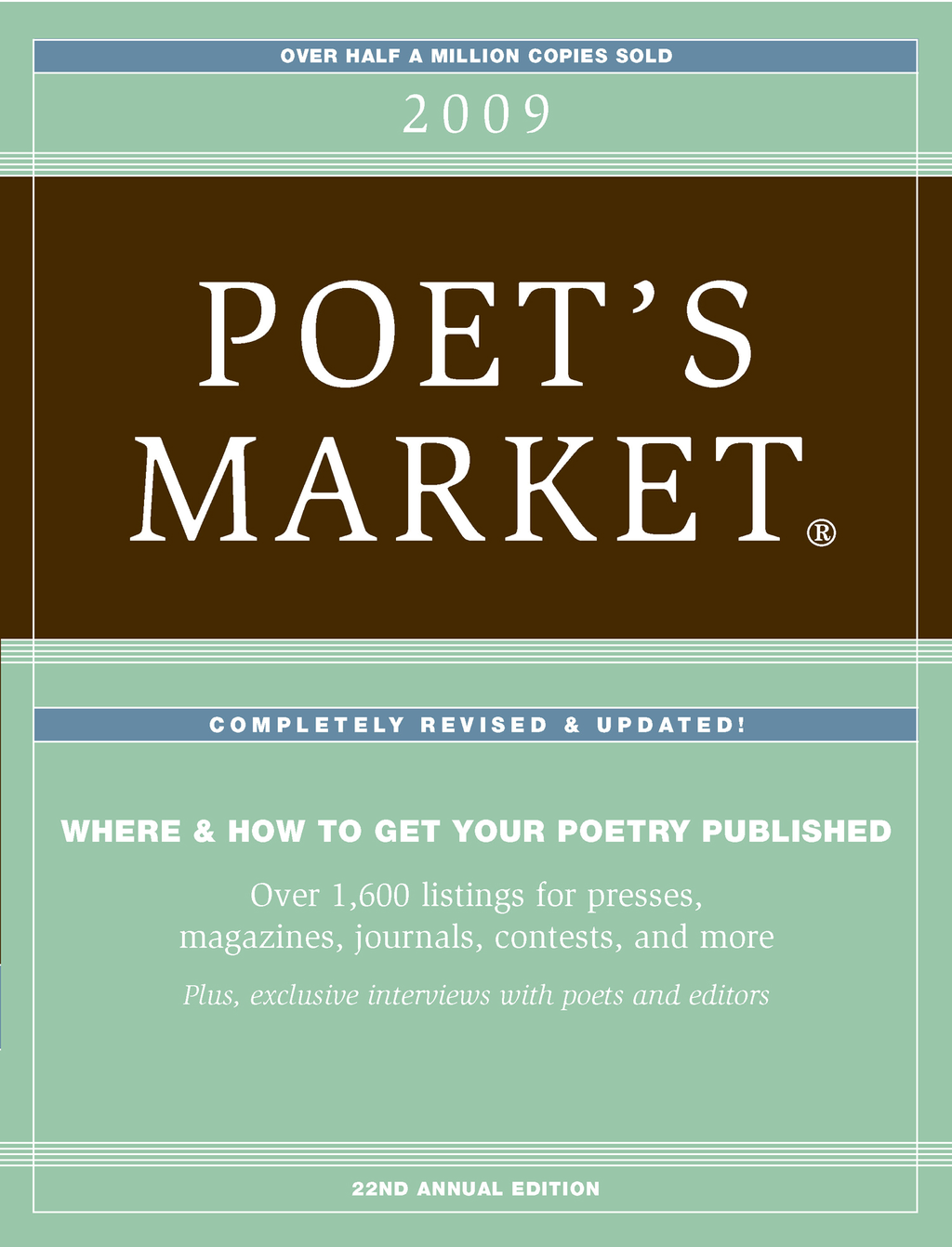 2009 Poet's Market - Listings By: Editors of Writers Digest Books