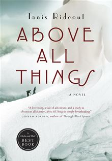 Above All Things By: Tanis Rideout