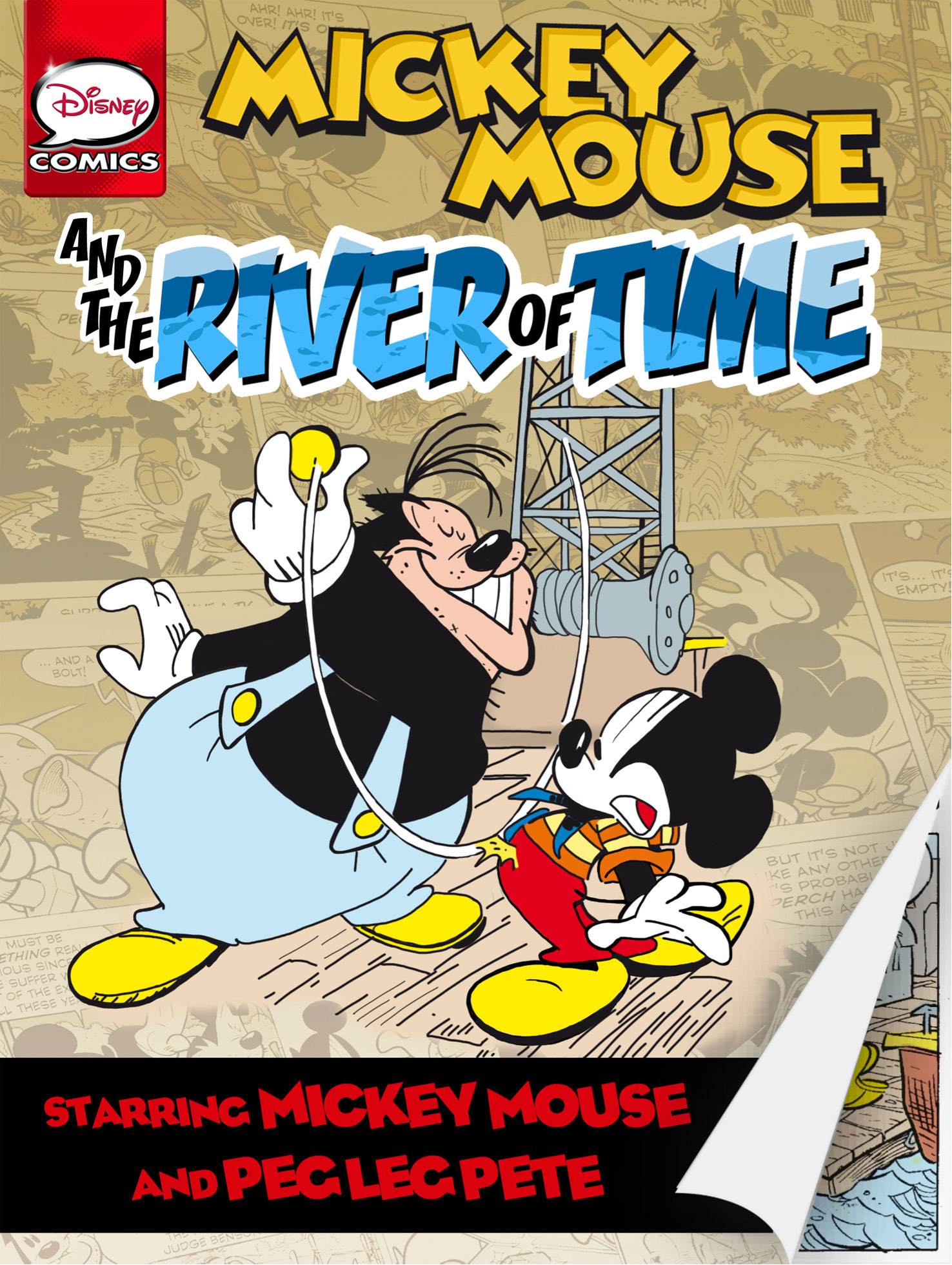 Mickey Mouse and the River of Time