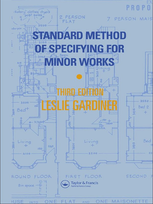 Standard Method of Specifying for Minor Works