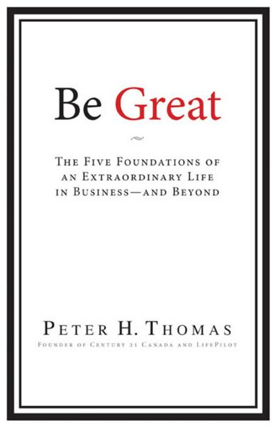 Be Great By: Thomas, Peter