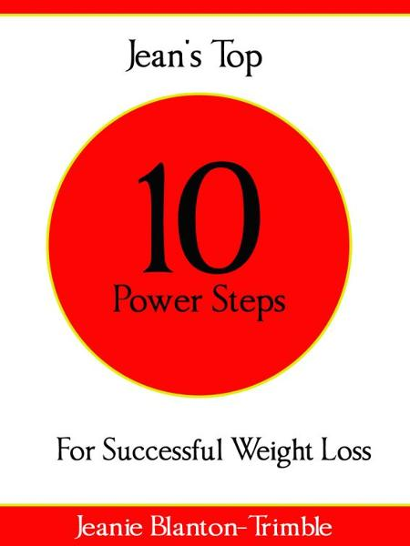 Jean's Top 10 Power Steps For Successful Weight Loss
