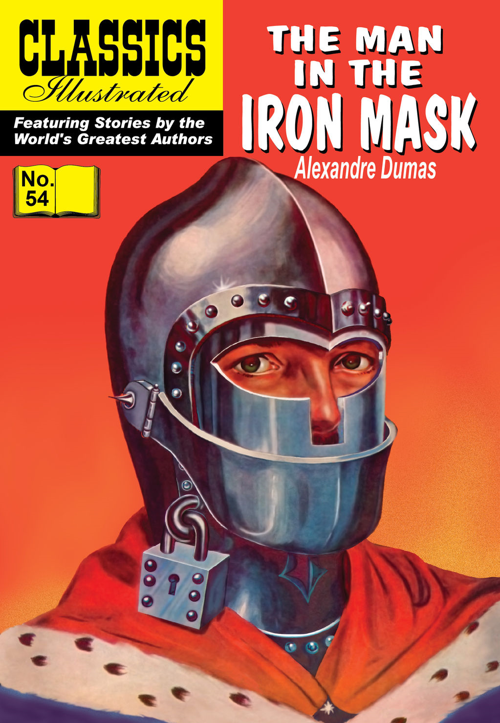 The Man in the Iron Mask - Classics Illustrated #54