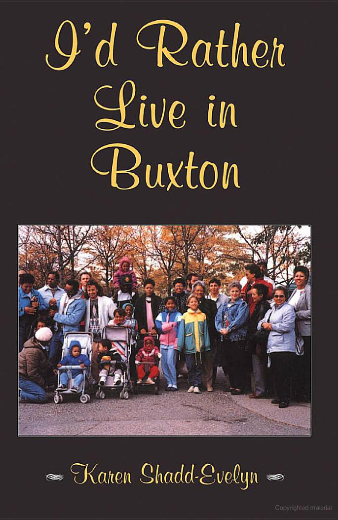 I'd Rather Live in Buxton