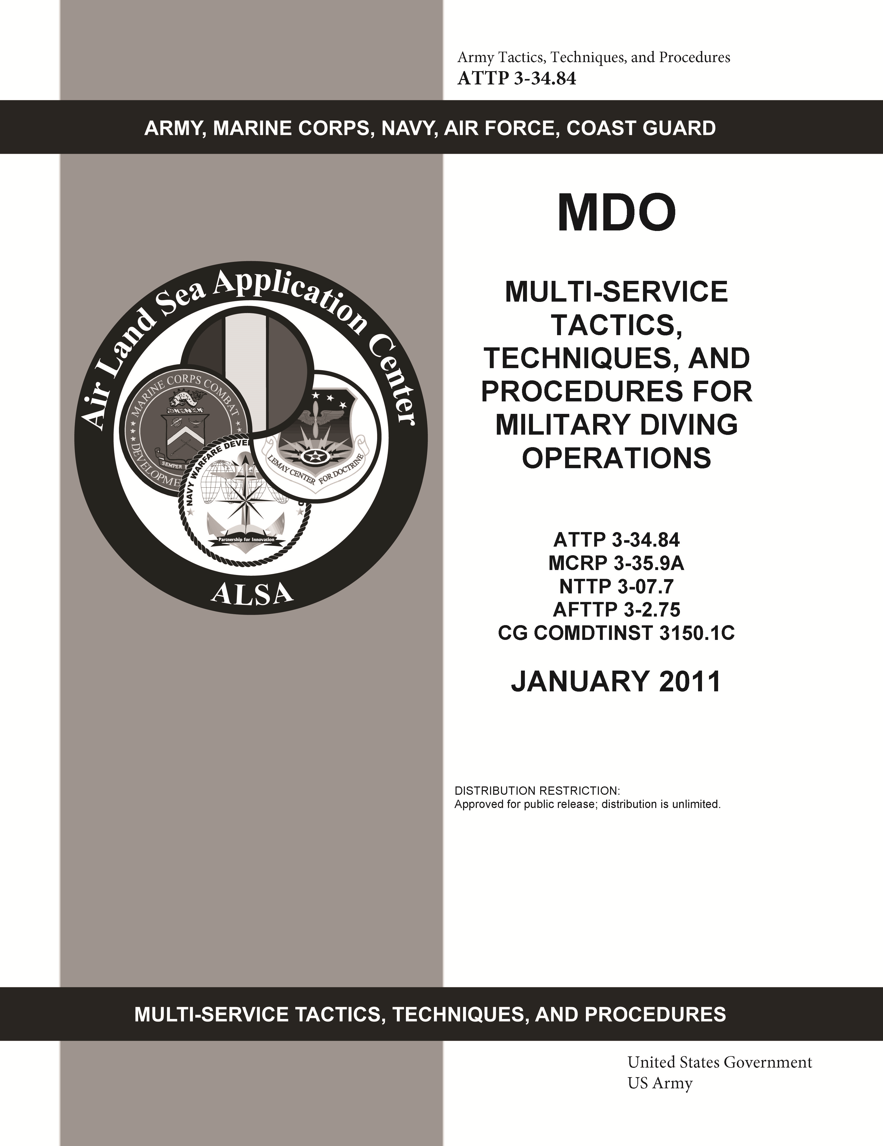 ATTP 3-34.84 MDO Multi-Service Tactics, Techniques, and Procedures for Military Diving Operations