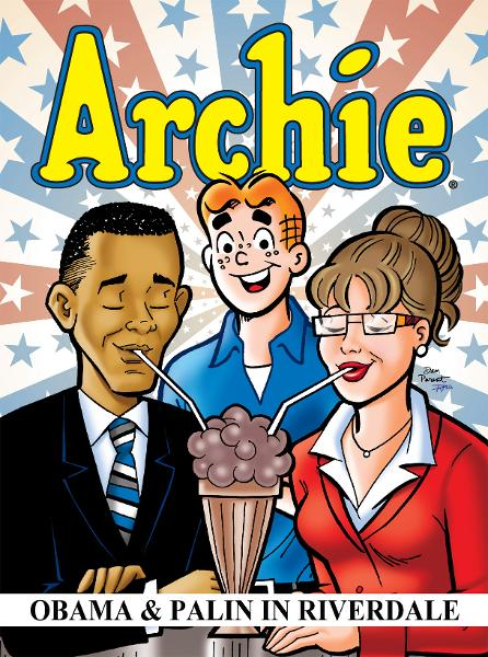 Archie: Obama & Palin in Riverdale By: