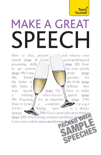 Make a Great Speech By: Jackie Arnold
