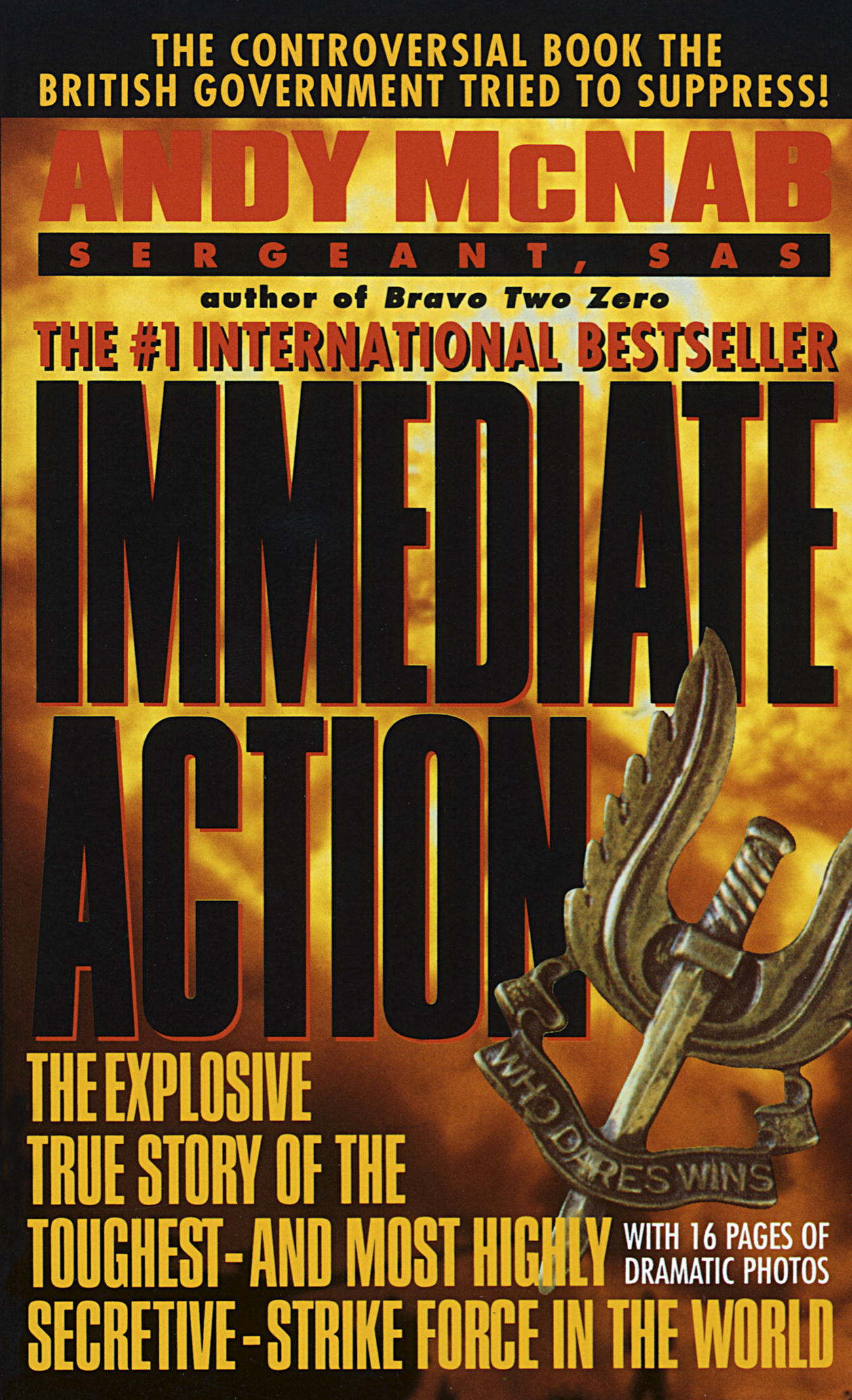 Immediate Action By: Andy McNab