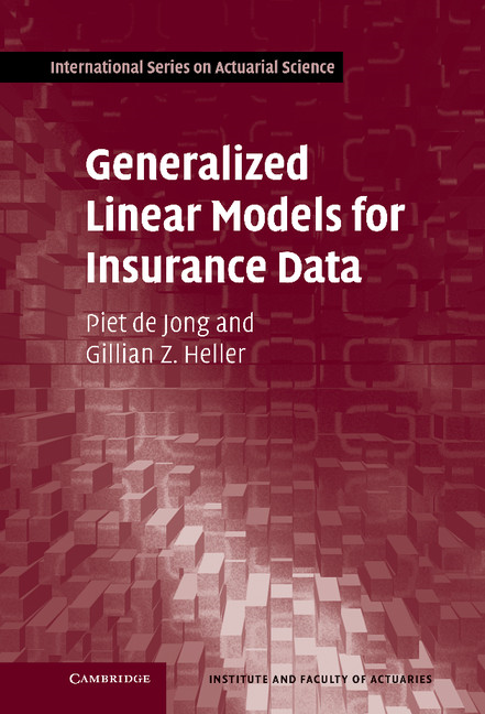 Generalized Linear Models for Insurance Data