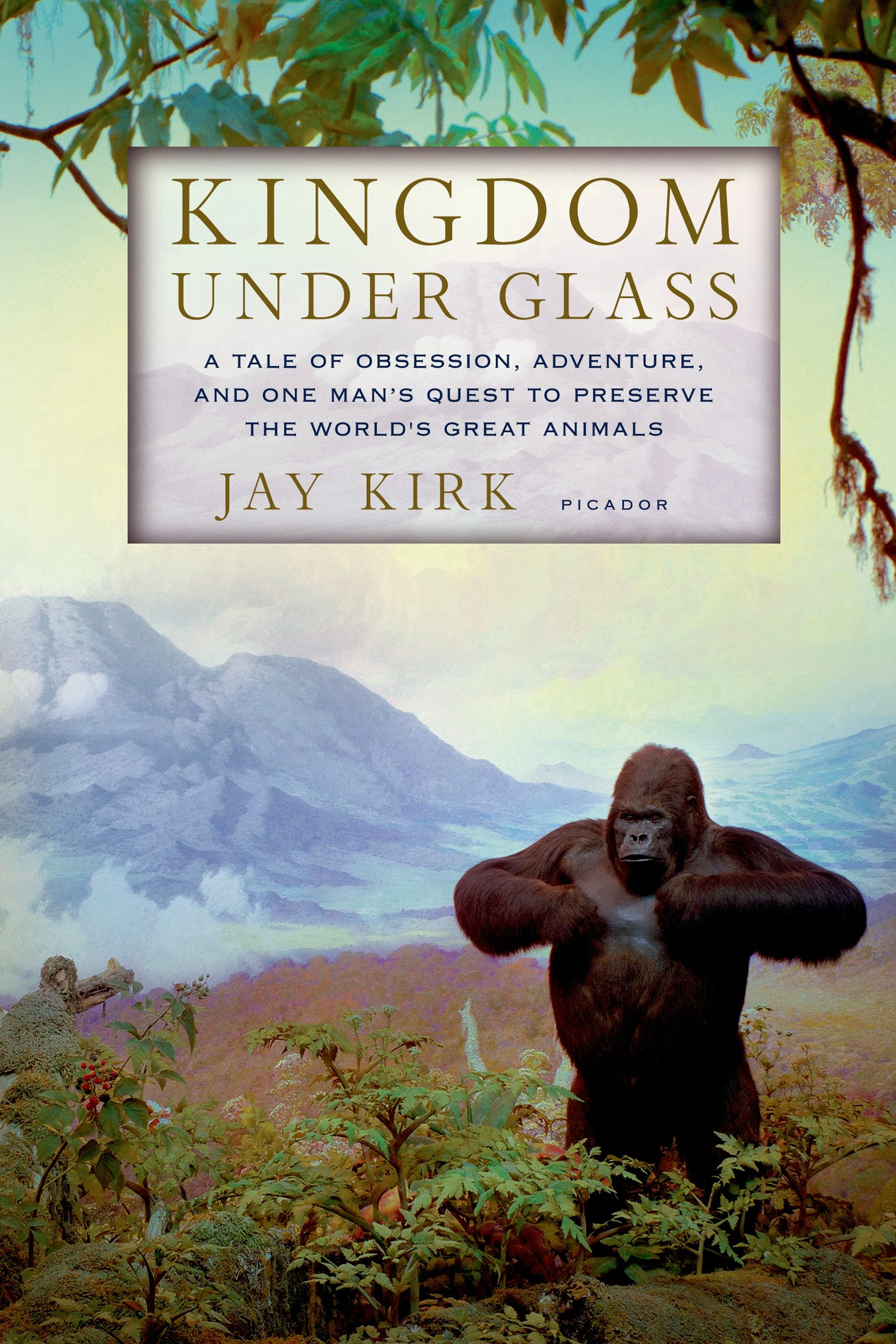 Kingdom Under Glass By: Jay Kirk