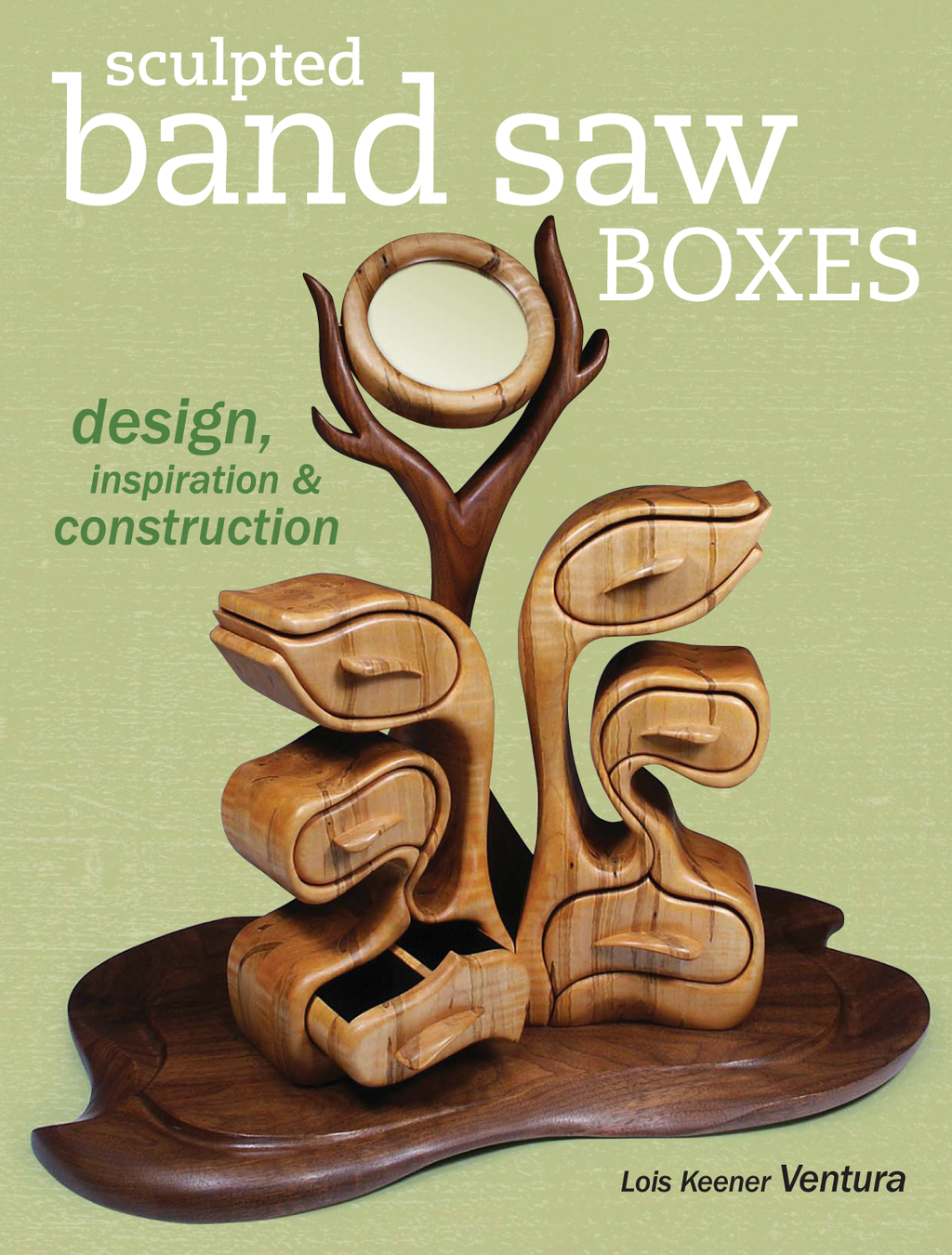 Sculpted Band Saw Boxes Design,  Inspiration & Construction