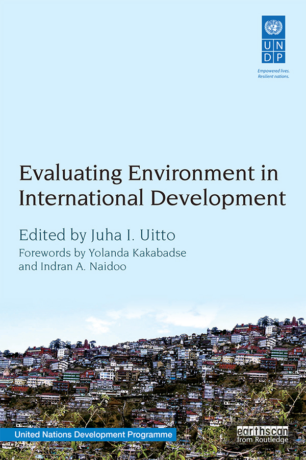 Evaluating Environment in International Development: Contributing to National Results Beyond Projects