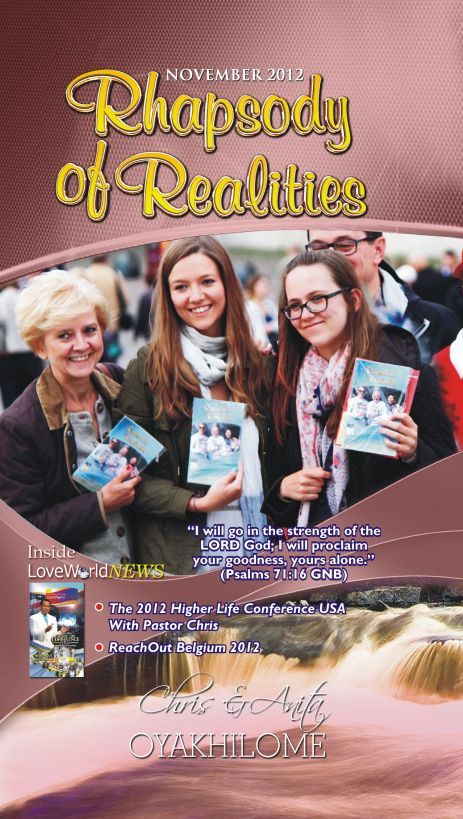 Rhapsody of Realities November 2012 Edition