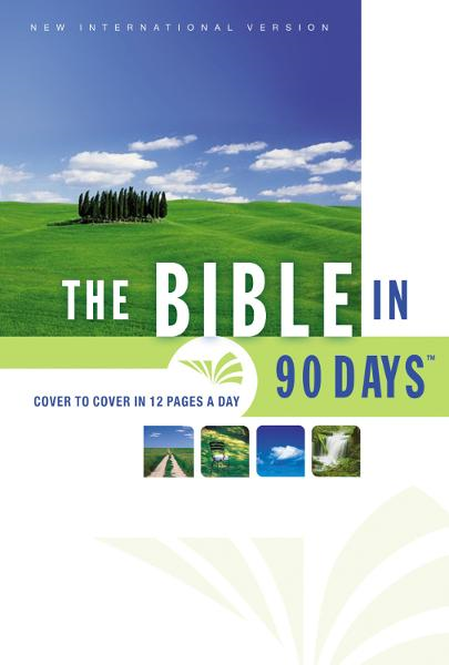 The NIV Bible in 90 Days By: Zondervan