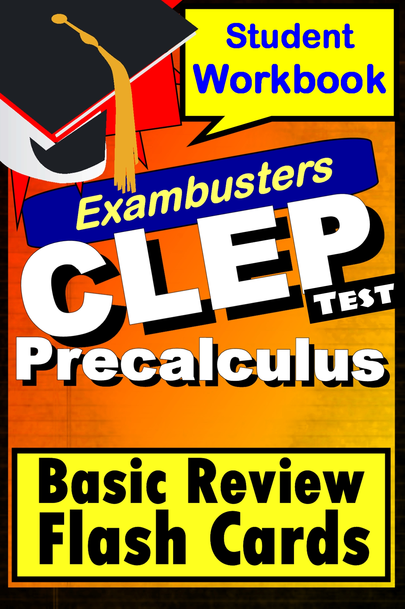 CLEP Precalculus Test--Exambusters Flashcards