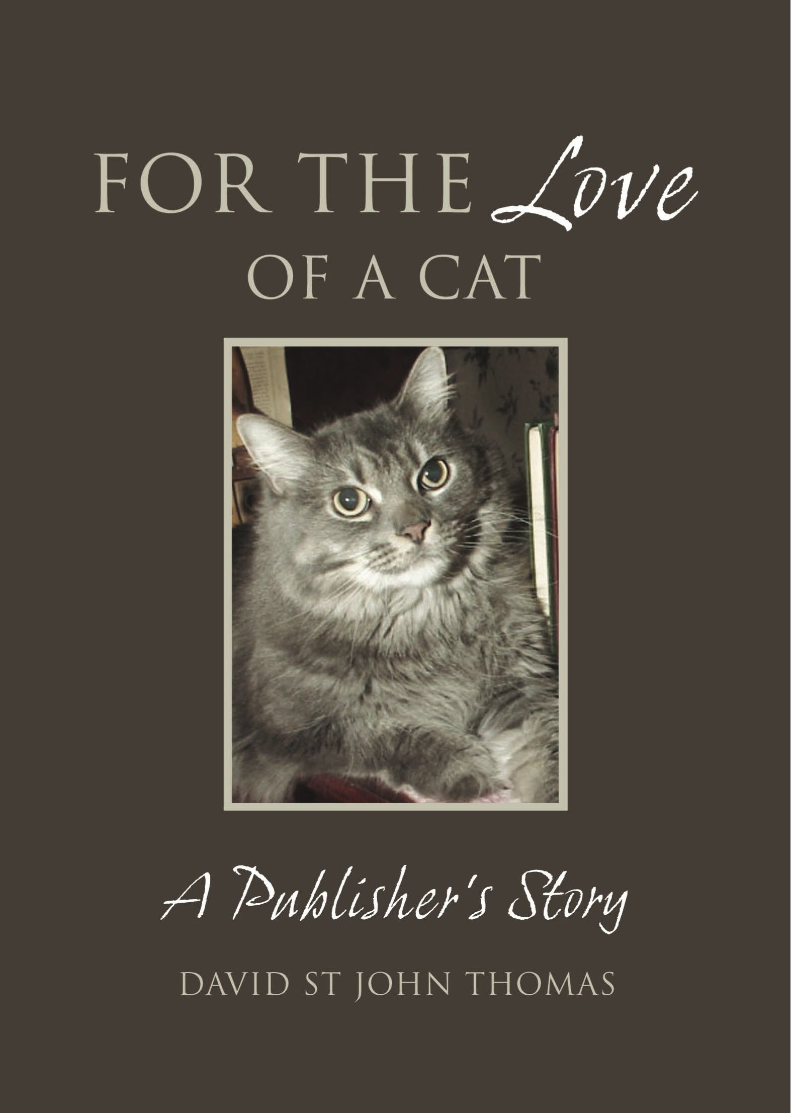 For the Love of a Cat By: David St John Thomas
