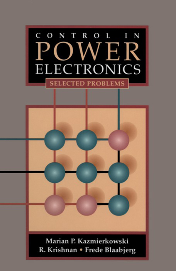 Control in Power Electronics Selected Problems