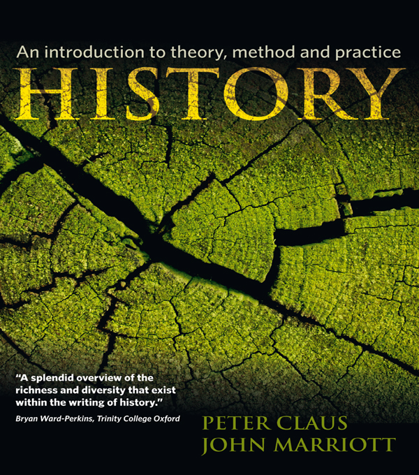 History An Introduction to Theory,  Method,  and Practice
