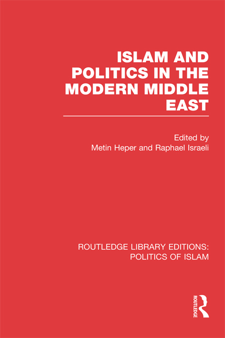 Islam and Politics in the Modern Middle East