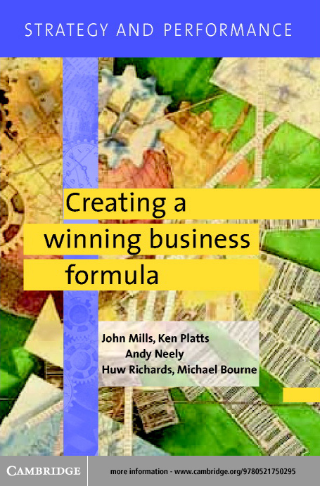 Strategy and Performance: Creating a Winning Business Formula