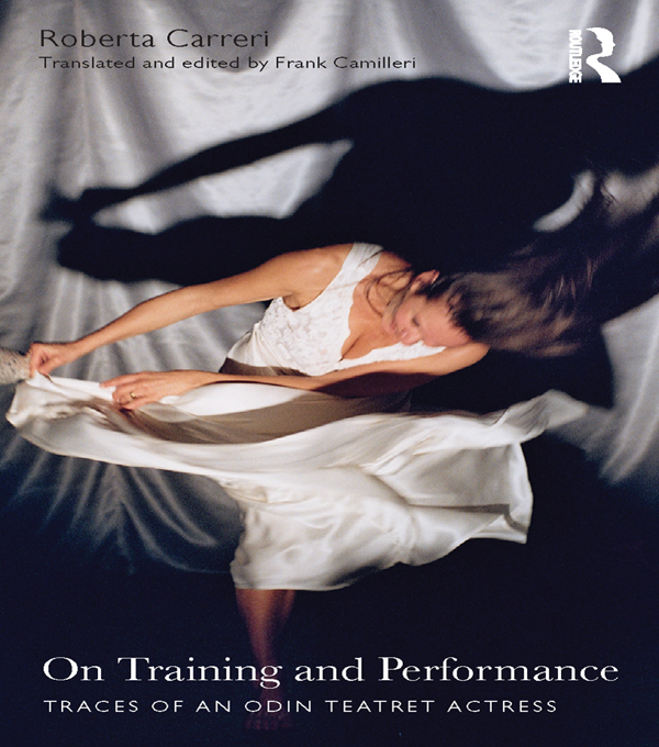 On Training and Performance Traces of an Odin Teatret Actress