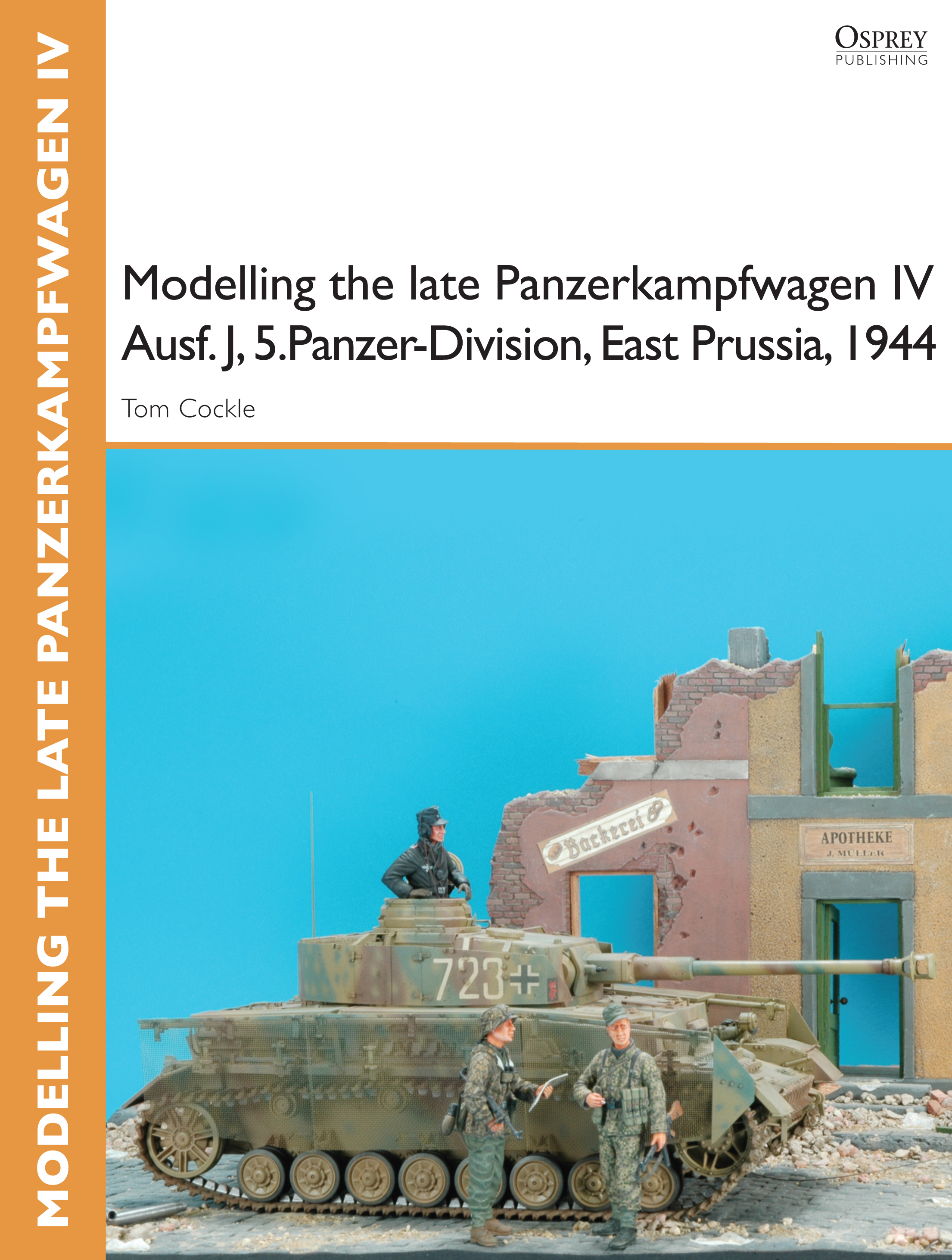 Modelling the late Panzerkampfwagen IV Ausf. J,  5.Panzer-Division,  East Prussia,  1944