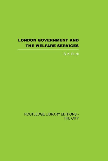 London Government and the Welfare Services