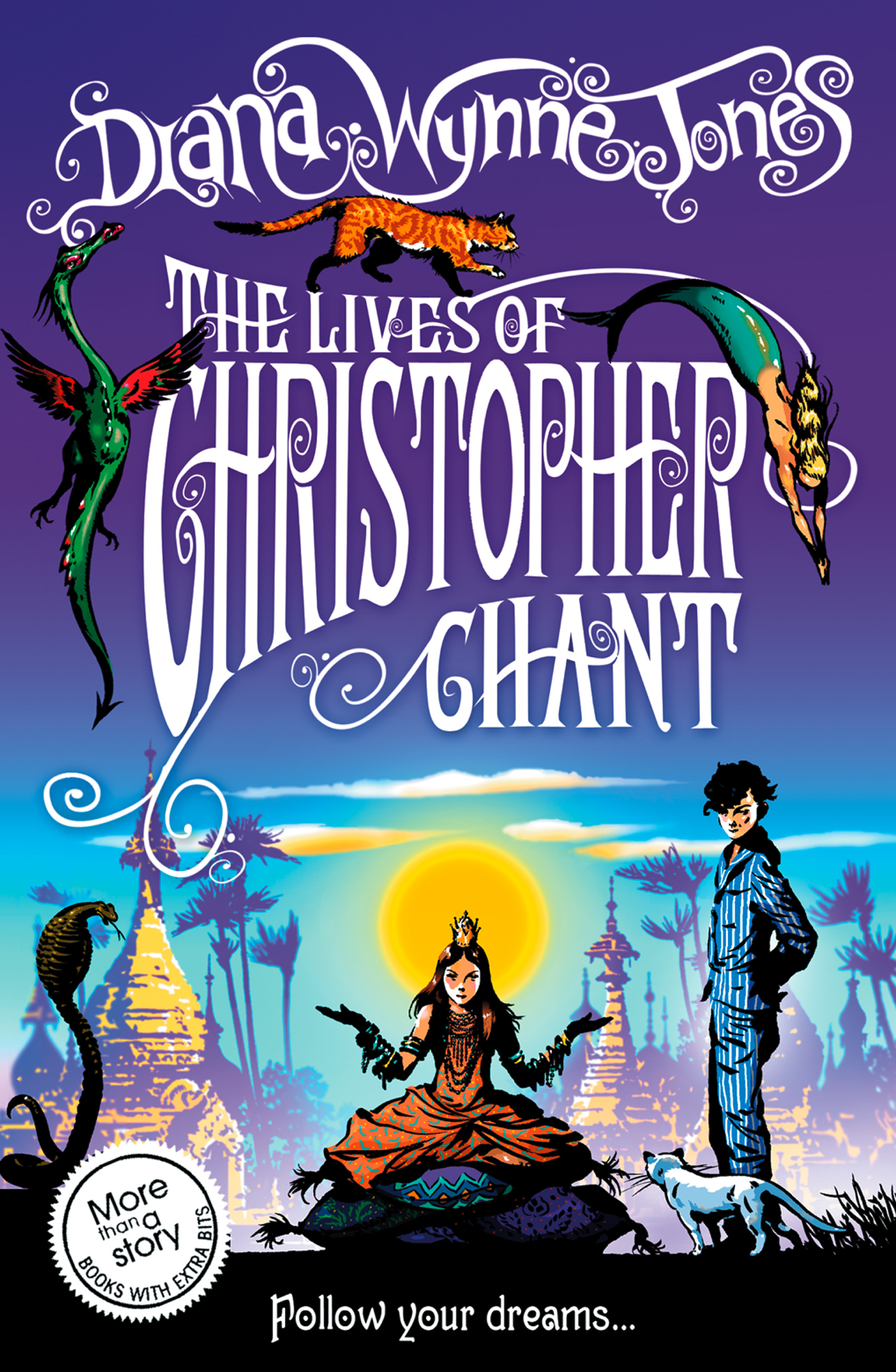 The Lives of Christopher Chant (The Chrestomanci Series,  Book 4)