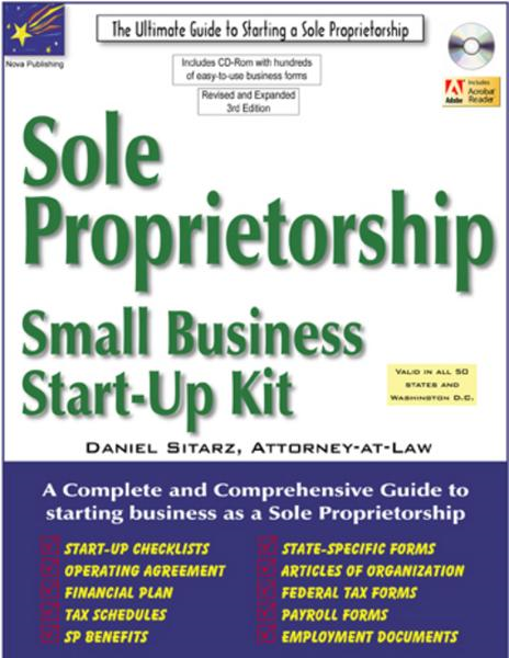 Sole Proprietorship: Small Business Star