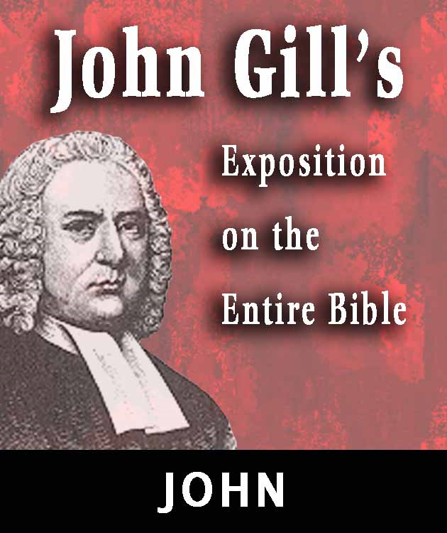 John Gill's Exposition on the Entire Bible-Book of  John