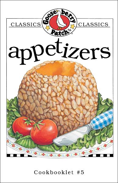 Appetizers Cookbook By: Gooseberry Patch