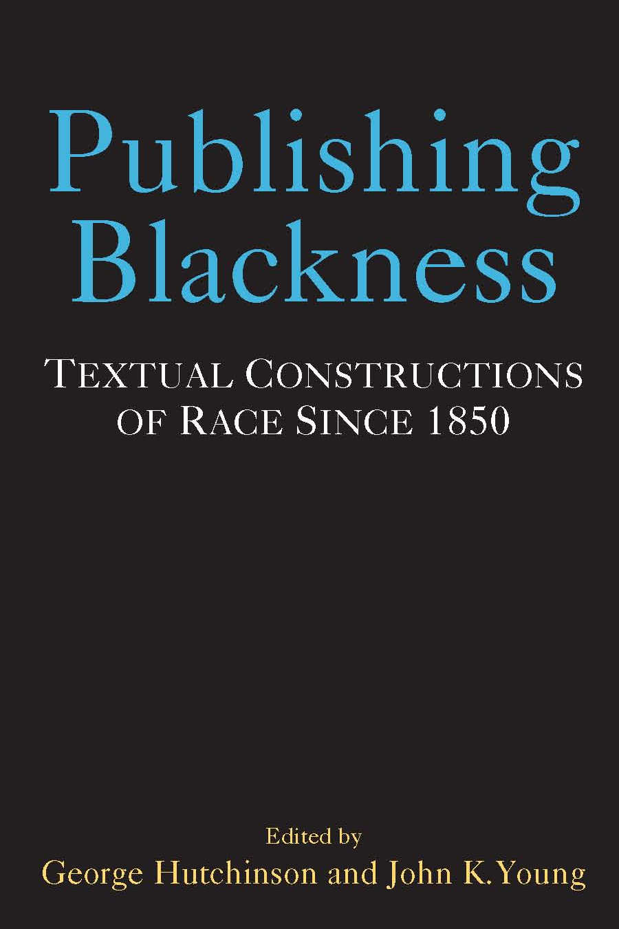 Publishing Blackness