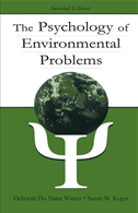 The Psychology Of Environmental Problems: Psychology For Sustainability: