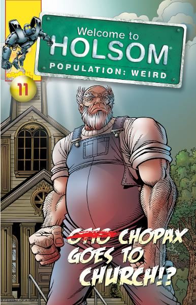 Chopax Goes To Church!? By: Al Milgrom,Craig Schutt,Jeff Albrecht,Steven Butler