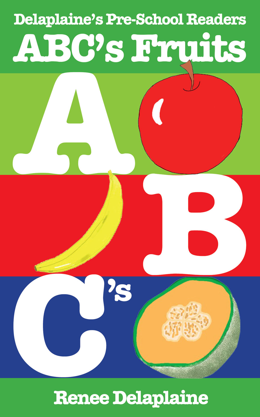 ABC's Fruits - Delaplaine's Pre-School Readers