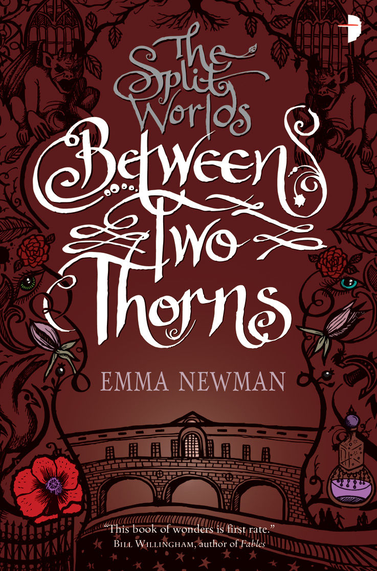 Between Two Thorns: The Split Worlds - Book 1