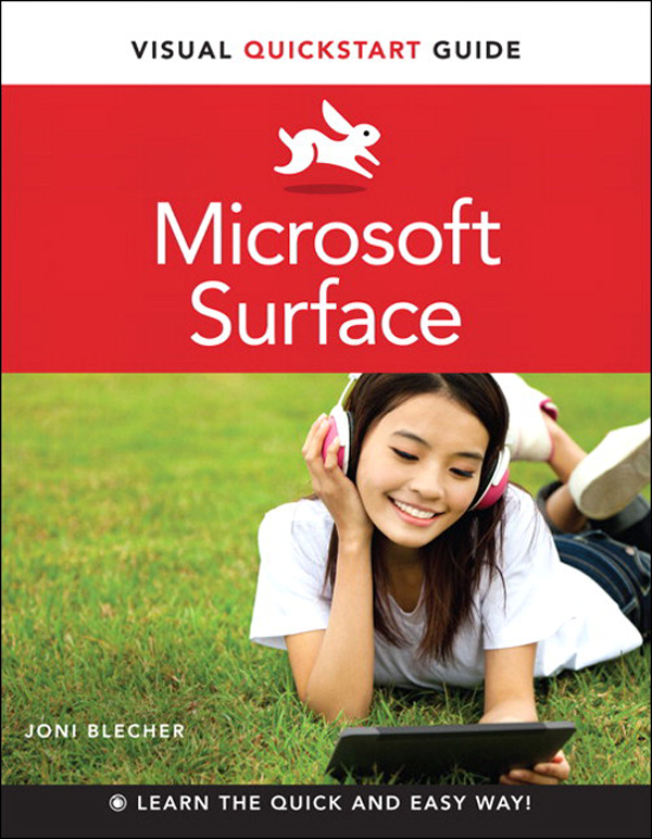 Microsoft Surface By: Joni Blecher