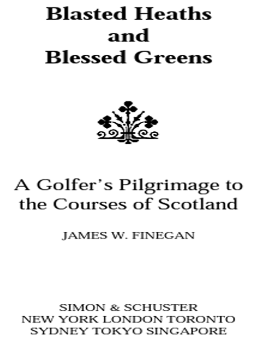 Blasted Heaths and Blessed Green By: James W. Finegan