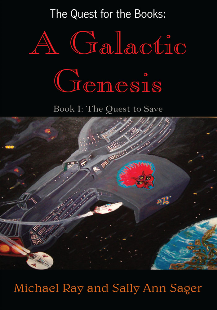 The Quest for the Books: A Galactic Genesis