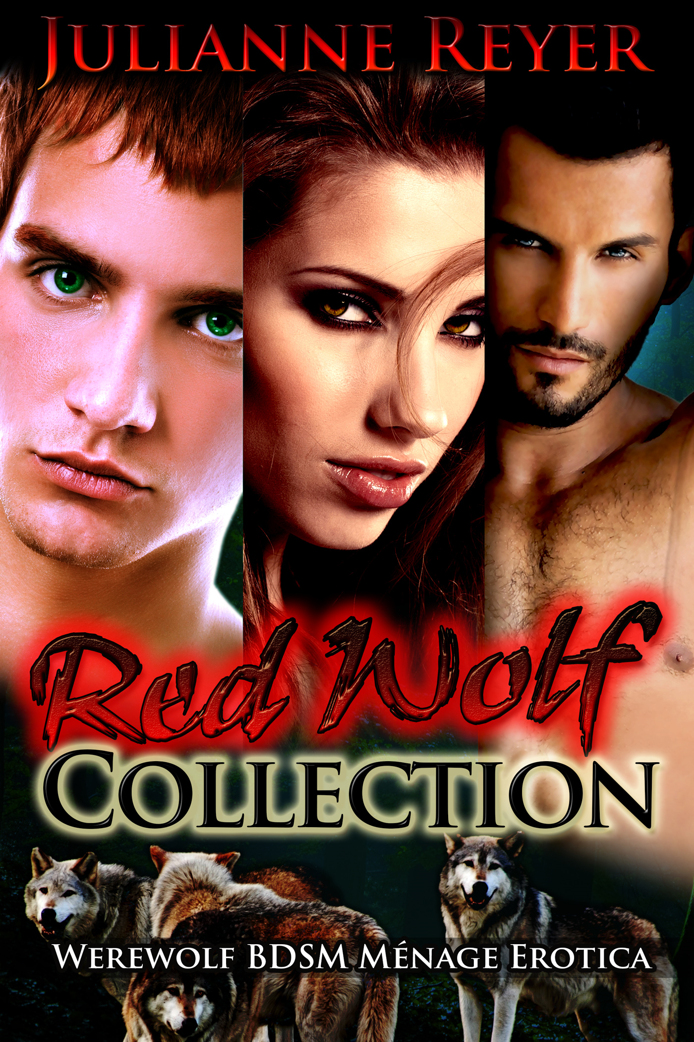 Red Wolf Collection (Werewolf BDSM Menage Erotica) (paranormal, new adult, lgbt, erotic, romance, sex, alpha male)
