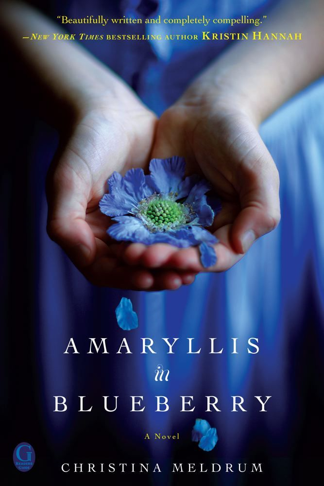 Amaryllis in Blueberry By: Christina Meldrum
