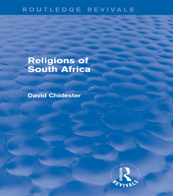 Religions of South Africa